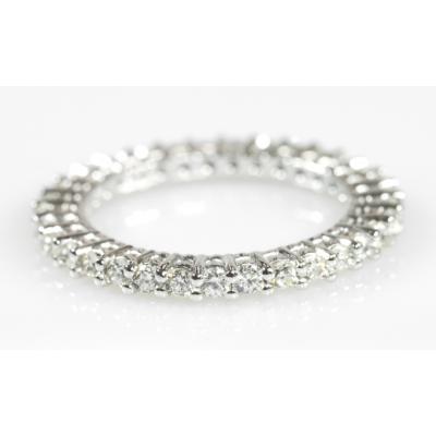 Veretta a giro con diamanti